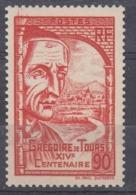 +France 1939. Grégoire De Tours. Yvert 442. MNH(**) - Ungebraucht