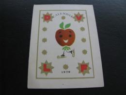 Romania Pocket Calendar  1970 Rare - Calendriers