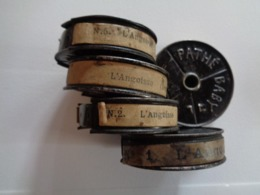 """FILM PATHE BABY 9,5mm  """"L'ANGOISSE """" 1923  4 BOBINES - Other Collections"""
