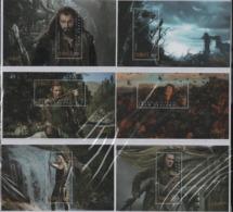 NC11 New-Zealand Nouvelle-Zélande Sheet°°  The  Hobbit Desolation Of Smaug Cinema - Blocks & Sheetlets