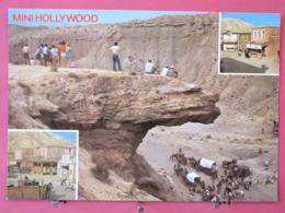 Visuel Très Peu Courant - Espagne - Tabernas - Mini Hollywood - Costa De Almeria - Excellent état - Scans Recto Verso - Almería