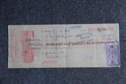 Lettre De Change : AUBEGNY, Limonade Gazeuse Des Roches. - Lettres De Change