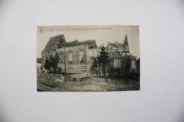 Sint-Denijs  Zwevegem  Kerk Verwoest Door 't In De Lucht Springen Van Den Toren EERSTE WERELDOORLOG - Zwevegem