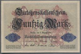 Pick 49 Ro 50b DEU-56b   50 Mark 1914 AUNC+ ! - [ 2] 1871-1918 : Duitse Rijk