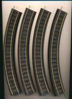 Trains JOUEF HO : 4 Rails Courbes électriques, Ref : 460 (2 Scans) - Rails