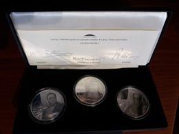 Latvia Lettland 2005-2006 PROOF Silber Münzen - Latvia