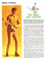 "PUB POUPEE "" REVELL ""  "" THE GREAT MAC CARTNEY ""  1965 ( 1 ) - Dolls"
