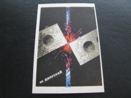 USSR Soviet Russia Pocket Calendar Stroyizdat Don't Let 1975 - Kalenders