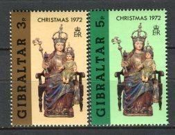 Gibraltar 1972. Yvert 290-91 ** MNH. - Gibilterra