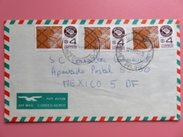Enveloppe Par Avion Mexique - 2 Timbres YT N° 919 - Cachet Gomez Palacio - 1984 - México
