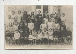 Cp ,carte Photo H. Pébreau ,  Poitiers, Vierge,école, Photo De Classe - Ecoles