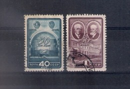 Russia 1948, Michel Nr 1286-87, Used - 1923-1991 UdSSR