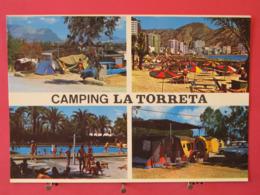 Visuel Pas Très Courant - Espagne - Benidorm - Camping La Torreta - Scans Recto Verso - Alicante