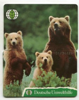 TK 12095 GERMANY - O108+109 07.93 20.100 Ex. Bears - 2 Card Puzzle - Puzzles