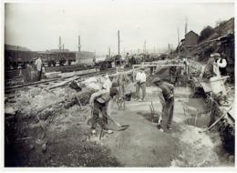 OUGREE - PHOTO Août 1925 - SA OUGREE-MARIHAYE - Construction  Accumulateurs à Minerais Et à Charbon Par PIEUX FRANKI - Lieux