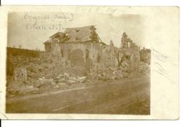 62 - CHERISY / CARTE PHOTO ALLEMANDE - France