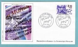 FDC France 1985 - Personnages Célèbres - Victor Hugo - YT 2358 - 25 Besançon - FDC