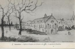 Issoudun - Eglise Et Chapitre De St-Denis 1152-1893 - A Gauche Le Cimetière - Issoudun