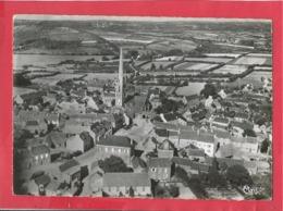 CPSM Grand Format - Sizun   -(Finistère) - Vue Générale Aérienne - Sizun