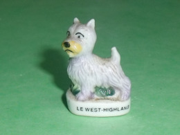 Fèves / Animaux / Chiens : Chien , Le West Highland      T65 - Tiere