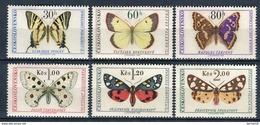 Checoslovaquia 1966. Yvert 1483-88 ** MNH. - Neufs