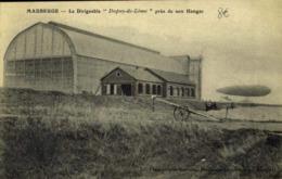 59 MAUBEUGE LE DIRIGEABLE DUPUY DE LOME PRES DE SON HANGAR / A 570 - Maubeuge