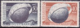 "1949-(MNH=**) Russia S.2v.""75 Anniversario Dell'UPU""cat.Yvert Euro 4 - 1923-1991 USSR"