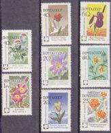 """1960-(MNH=**) Russia S.8v.""""fiori""""catalogo Euro 6,5 - 1923-1991 USSR"""