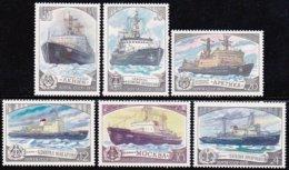 """1978-(MNH=**) Russia S.6v.""""battelli Rompigiaccio""""catalogo Euro 4 - 1923-1991 USSR"""