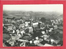 CPSM Grand Format -La France Vue Du Ciel...4 - Plouneour Trez - L'église Et Vue Générale -(Finistère) - Otros Municipios