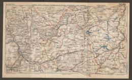 CARTE PLAN 1928 - NOMENY NANCY LUNEVILLE CHATEAU SALINS DIEUZE SARREBOURG CIREY BLAMONT - Cartes Topographiques