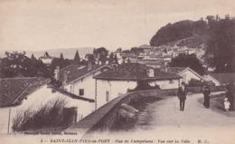 64 Saint Jean Pied De Port, Rue De Pampelune, Vue Sur La Ville - Saint Jean Pied De Port
