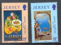 Jersey 2003; Europa Cept, Michel 1072-1073.** (MNH) - 2003