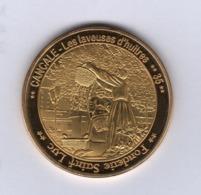 Médaille Touristique Fonderie Saint-Luc 35 Cancale Les Laveuses D'Huitres - Other