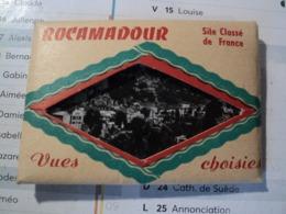 VIEIL ENSEMBLE DE 10 PHOTOS DE ROCAMADOUR. MILIEU XX° SIECLE - Photographie