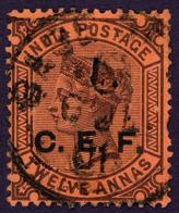 British India China Expeditionary Forces Queen Victoria C.E.F. Mi:IN FC9, Sg:IN C9 1900 Mint - 1882-1901 Imperium