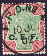 British India China Expeditionary Forces Queen Victoria C.E.F. Mi:IN FC10, Sg:IN C10 1900 Used - 1882-1901 Imperium