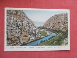 LebanonValley Of Nahr El Kelb     Ref 3646 - Lebanon