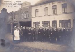 41672 -  Wieze  Brasserie   1932 -  Photo  16,5  X  11 - Dendermonde