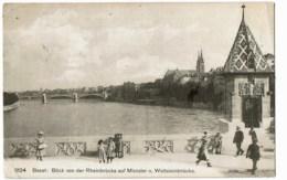 Basel  3124  Blick Von Der  Rheinbrucke - BS Bâle-Ville
