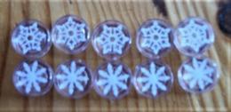 Lot De 10 Flocons De Neige Légo - Lots