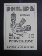 BUVARD - LAMPE PHILIPS - GRAND FORMAT - VOIR SCAN - Blotters