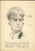1942-Vittorio Emanuele II,cartolina Postale In Franchigia Con Annullo Regie Poste 6' Reggimento Autieri Bologna - Guerra 1939-45