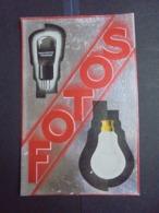 BUVARD - LAMPE RADIO FOTOS GRAMMONT - VOIR SCAN - RECTO VERSO - Vloeipapier