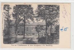 Sint-Mariaburg   Brasschaat   Vue Sur L'Etablissement De Bains Ferrugineux - Brasschaat