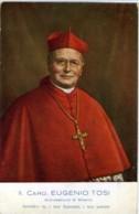 CARDINALE EUGENIO TOSI  Arcivescovo Di Milano - Cristianesimo
