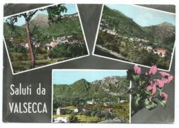 CPSM MULTIVUES SALUTI DA VALSECCA, BERGAME, ITALIE - Bergamo