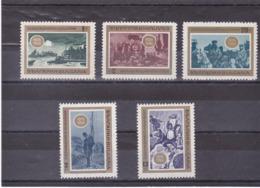 BULGARIE 1968 Libération Du Joug Ottoman Yvert 1571-1575 NEUF** MNH - Bulgarien