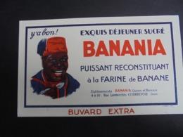 BUVARD - BANANIA - EXQUIS DEJEUNER SUCRE - PEU COURANT - Papel Secante