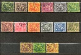 PORTUGAL Sceau Du Roi Denis 1953-56 N° 774-87 - Oblitérés